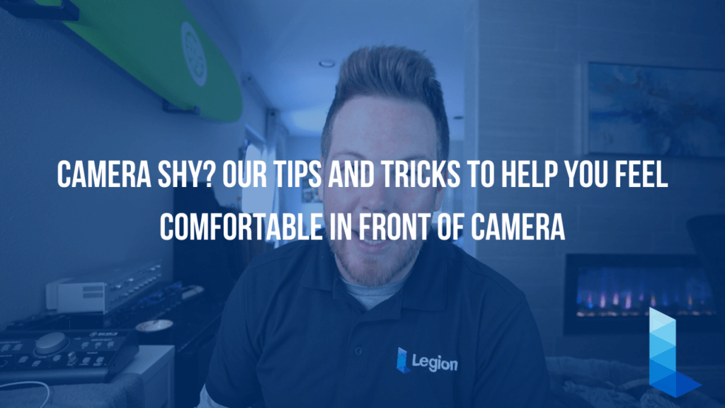 Camera Shy? Our Tips and Tricks to Help you Feel Comfortable in Front of the Camera